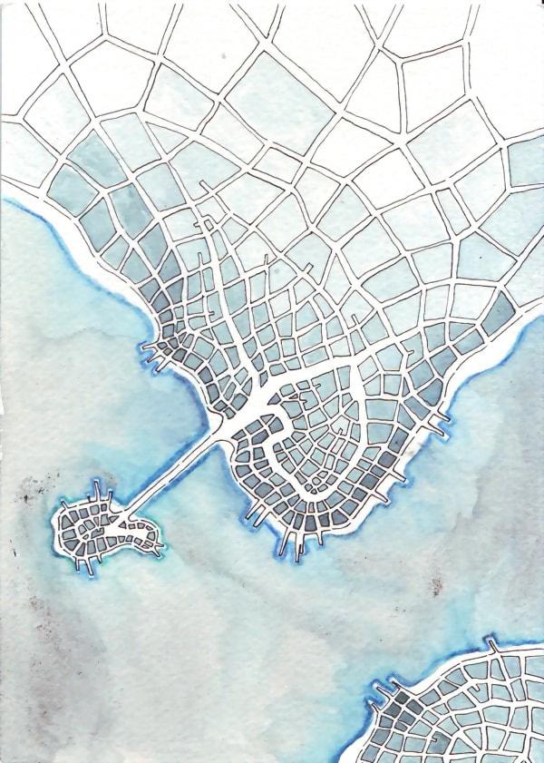Cyan Island (Cityspace #148)
